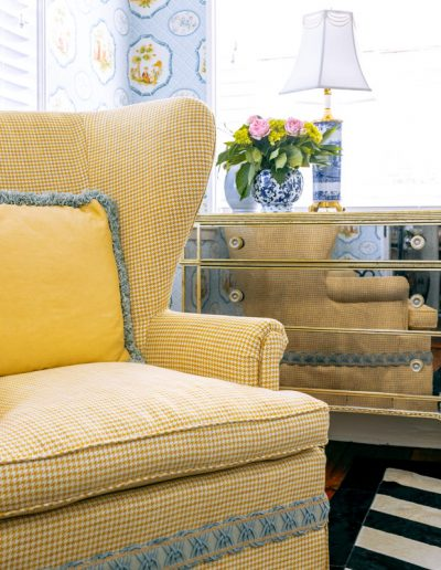 French Thistle Upholstery